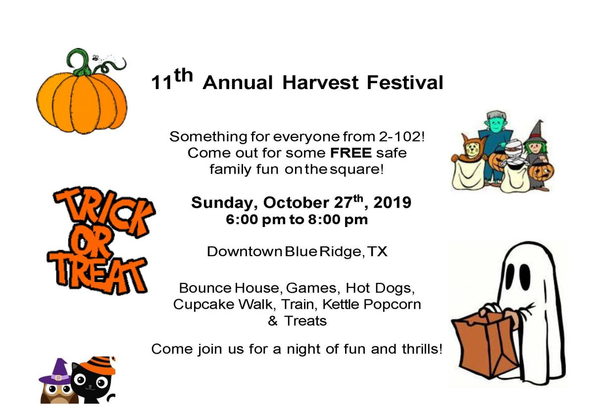 11th Annual Harvest Festival